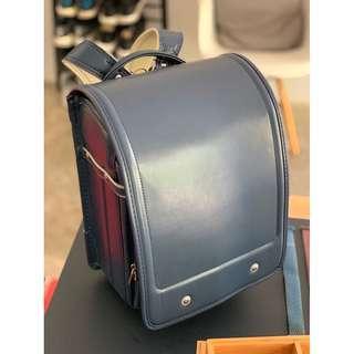 High quality Japanese Randoseru School Backpack - Blue