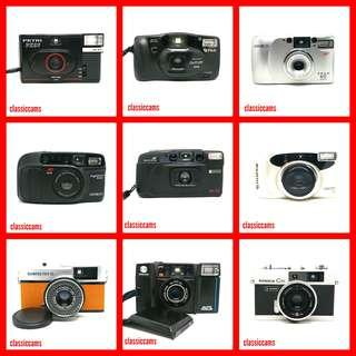 📷 Budget 35mm Film Cameras ! From $55 | Point n Shoot | Lomography