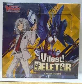 Cardfight vanguard V booster vol 4 vilest deletor