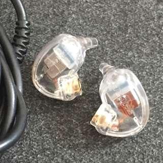 正貨 Shure SE425 入耳式 專業 耳機 透明 + 原裝 舒爾  mmcx 線