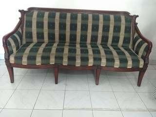Sofa Set Kayu Jati