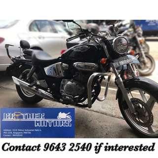 NEA incentive Honda Phantom TA200