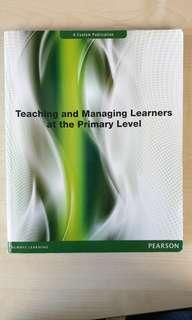 Teaching and managing primary school learners