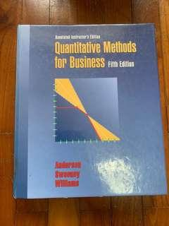 🚚 Quantitative Methods for Business