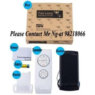 Universal Remote Control for Ceiling Fan and Lights