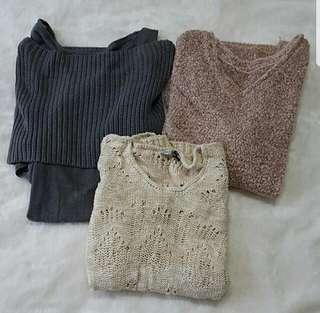 All 3 For $30 Knit Wear/Top