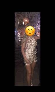 Sequin dress from Honey