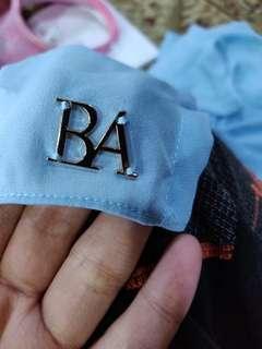 B'belle shawl baby blue