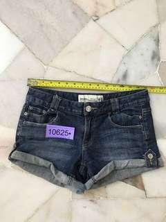 Just jean Short size 10 no 10625