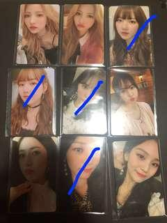 WTS Gfriend time for us Limited photocard.