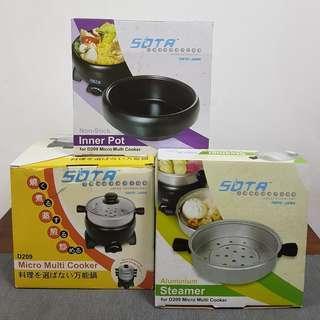 BNIB*** SOTA Electric Micro Multi Cooker