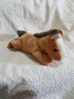 Plush Horse Beanie Toy
