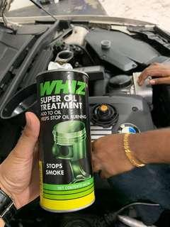 Whiz oil treatment