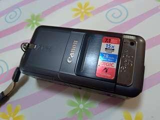 Canon s70 連 4gb cf card 100% work