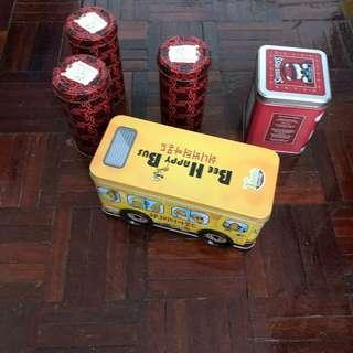 鐵皮儲物樽盒