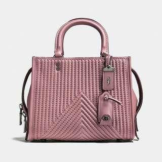 Coach rouge25 pink