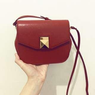 C&K Red Sling Bag