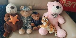 US navy & RSN teddy bears & others