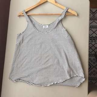 Zara Trafaluc Stripes Tank Top