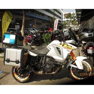 KTM 1290 Adventure  Jun 2015 D/P $500 or $0 With out insurance (Terms and conditions apply. Pls call 67468582 De Xing Motor Pte Ltd Blk 3006 Ubi Road 1 #01-356 S 408700.