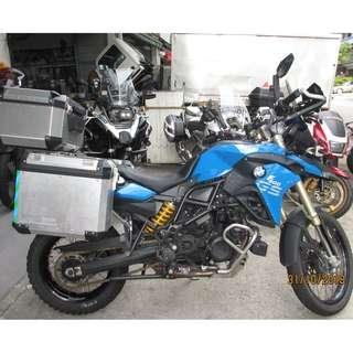 BMW F800GS 2013 $13,5K Nego D/P $500 or $0 With out insurance (Terms and conditions apply. Pls call 67468582 De Xing Motor Pte Ltd Blk 3006 Ubi Road 1 #01-356 S 408700.