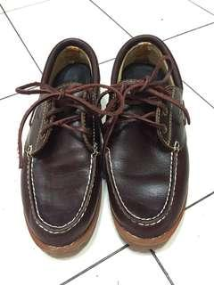 Timberland Authentics Handsewn Boat Shoe 90%new