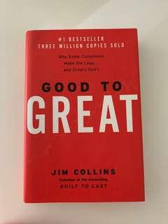 Good To Great By Jim Collins Hard Cover