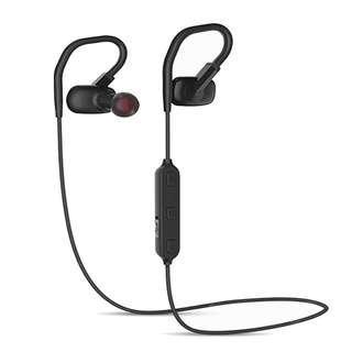 1/3  W2 In-ear Wireless Music Stereo Sports Bluetooth Headset 12.5G - Black