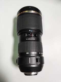 Tamron 70-200mm F/2.8 Di SP LD (IF) Lens for Nikon