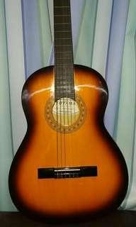 Toyama Acoustic Guitar 木結他