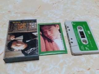 錄音帶  劉德華  愛的空間   盒裂痕88%封面/帶90%新