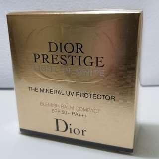 <全新正品> Dior Prestige - Light-in-White - The Mineral UV Protector - Belemish Balm Compact SPF 50+ PA++++  HKD471
