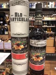 行貨 10年 Douglas Laing's Old Particular Glenallachie 10 year old Single Cask Sherry Butt Single Malt Scotoch Whisky 2008 Whiskey 威士忌 IB