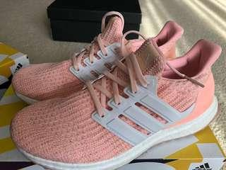Adidas peach pink color Ultraboost US 6.5 nmd Nike 粉紅