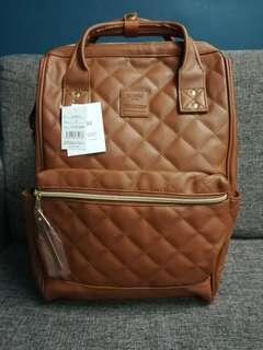 Authentic Anello Quilted Backpack