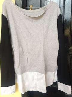 sweatshirt rajut