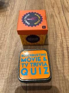 Table Card games / Table Trivia