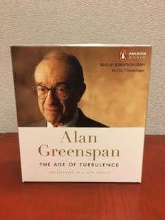 The Age of Turbulence by Alan Greenspan (Audio Version with 16 CDs)