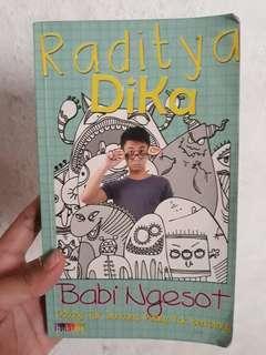 Novel Raditya dika Babi ngesot