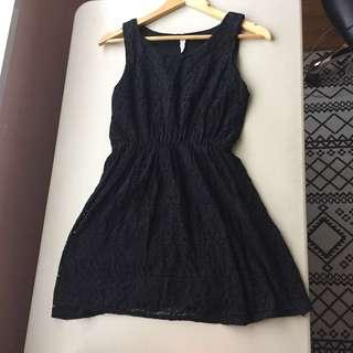 LBD Little Black Dress Lace