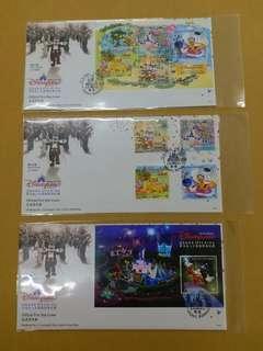 2005 香港廸士尼樂園開幕首日封