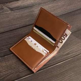 皮革材料包】六卡迷你短銀包 BSP080
