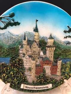 🚚 德國新天鵝堡紀念擺飾品
