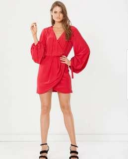 Alys; Berry that's a Wrap Dress - Size 10