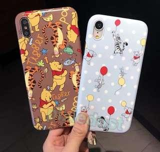 winnie the pooh and friends phone casing