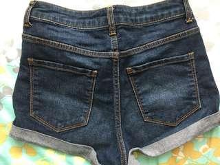Forever 21 denim Shorts celana pendek hot pants