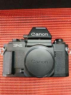 Canon F-1 film body