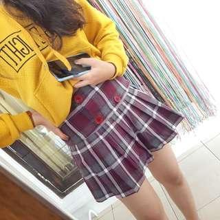Tennis Skirt - Tennis Button Skirt