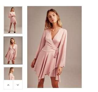 RRP199 Brand new | Keepsake Oceans wrap dress pink