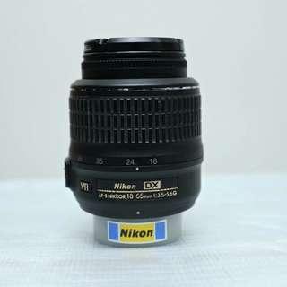 Nikon AFS 18-55 VR